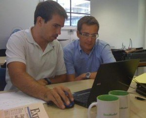 Joel Vicient y Jordi Ber
