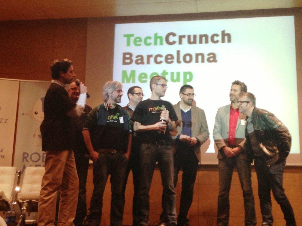 Marfeel gana el TechCrunch Barcelona Meetup