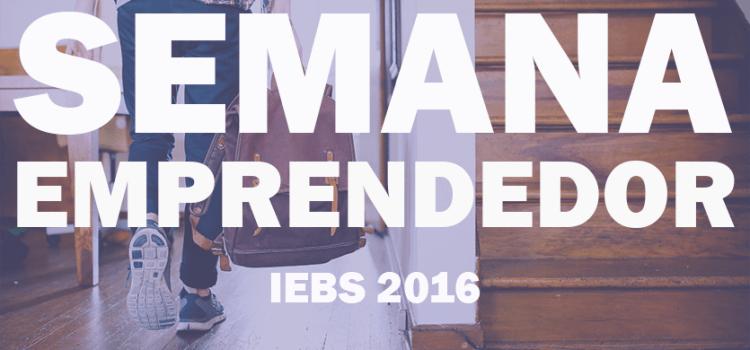 Comienza la semana del Emprendedor en IEBS