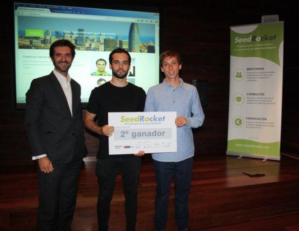 Holded estuvo en nuestro XV Campus de Emprendedores y obtuvo el segundo premio
