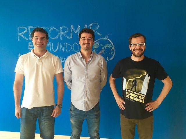 Martín Caleu, Javier Serer y Jordi Ber | Foto: Habitissimo