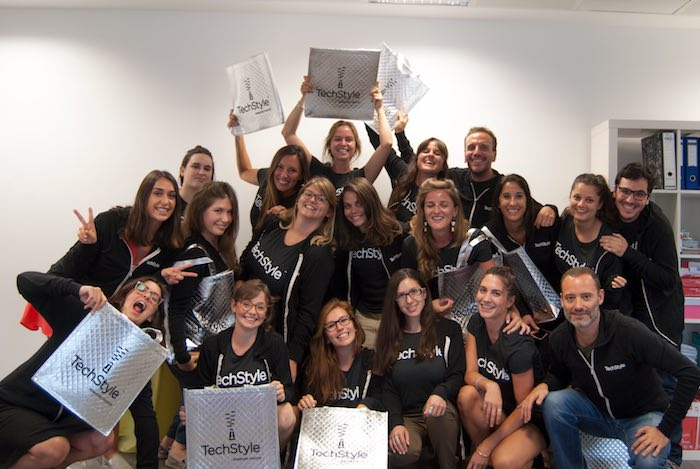 Equipo Just Fab. Fuente: Just Fab
