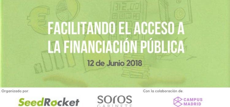 Facilitando el acceso a la financiación pública