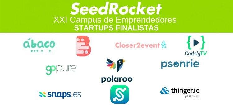 XXI Campus de Emprendedores: Startups finalistas