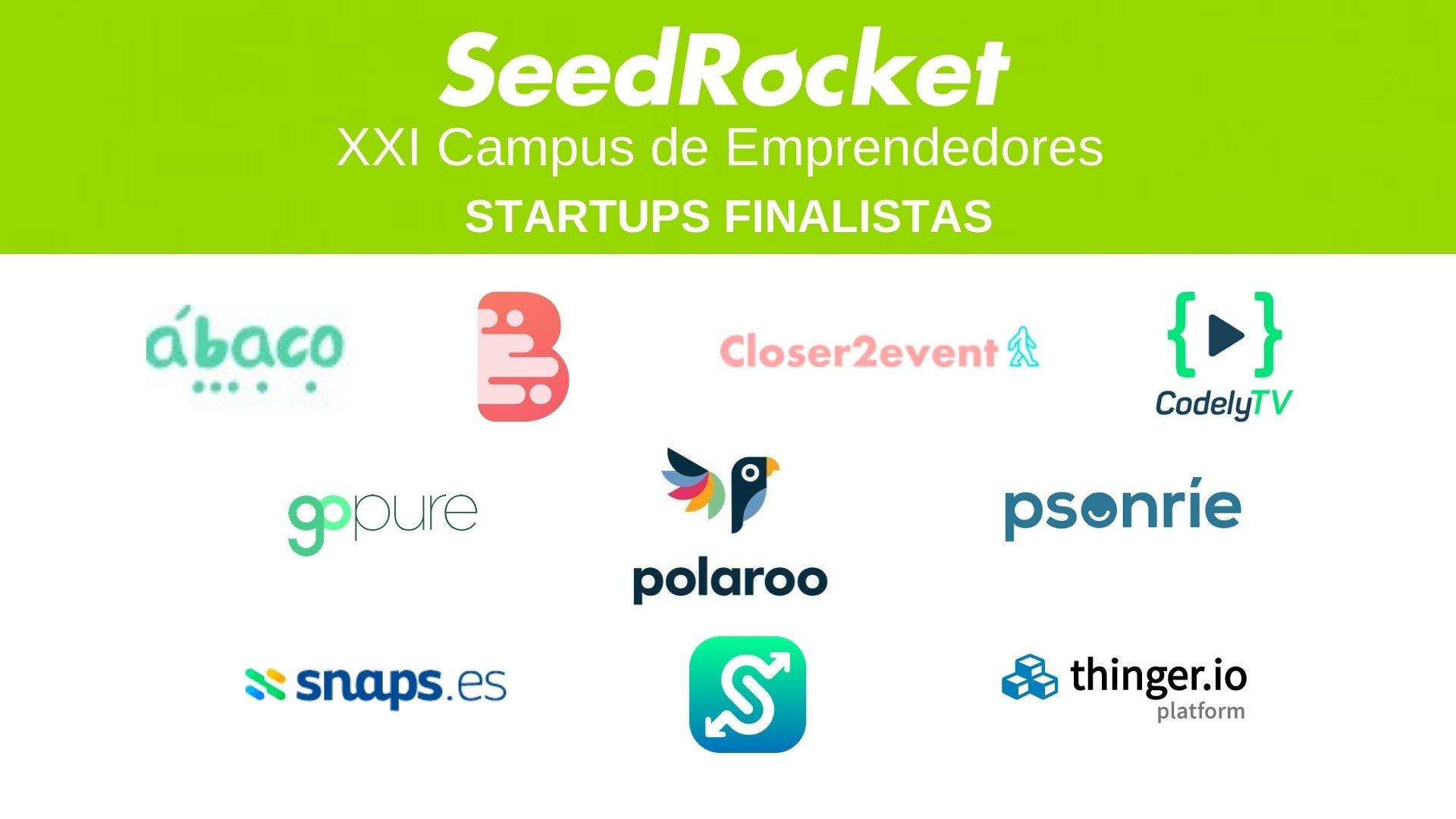 XX Campus de Emprendedores _Finalistas
