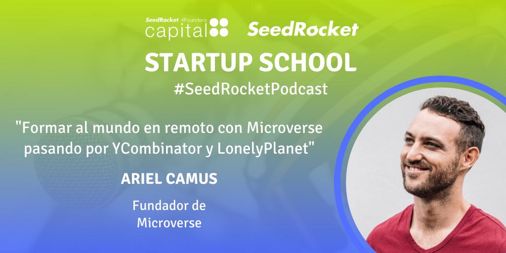 Episodio 21-Ariel-Twitter- SeedRocket Podcast