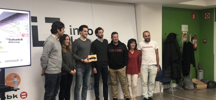 La startup vasca, Smowltech, proclamada ganadora nacional del III Venture On The Road