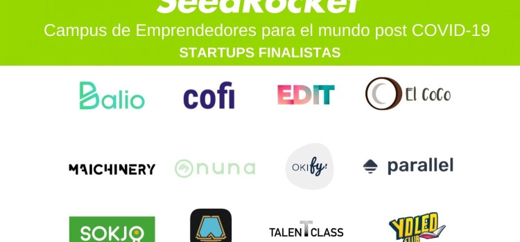 Conoce a las 12 startups finalistas del Campus de Emprendedores para el mundo post COVID-19