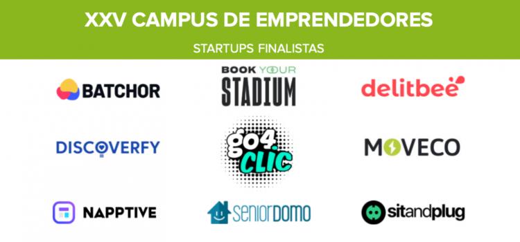 Conoce las 9 startups finalistas de la XXV edición del Campus de Emprendedores